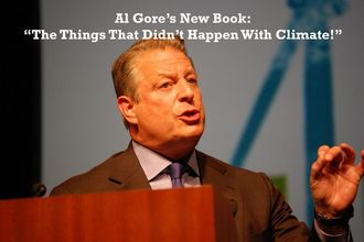 Al Gore Announces a Second Movie about the 'Horrors' of Climate Change