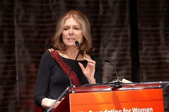 Gloria Steinem: Forced Childbirth 'the Fundamental Cause of Climate Change