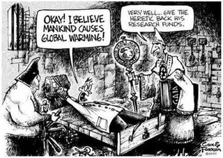 Religious lies, scientific facts, and the political fraud of climate change
